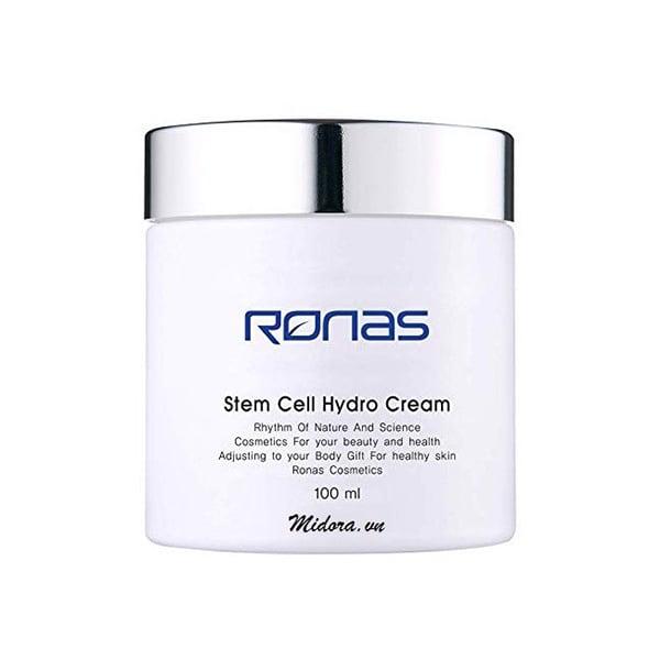 Kem Dưỡng Ẩm Da Mặt Ronas Stem Cell Hydro Cream 100ml