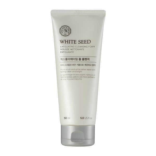 Sữa Rửa Mặt Làm Sáng Da The Face Shop White Seed Exfoliating Foam Cleanser 150ml