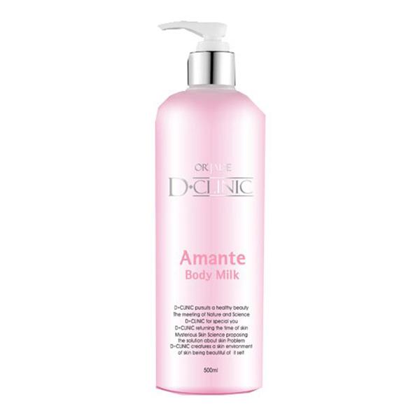 Sữa Tắm Trắng Da Dclinic Amante Body Perfume Milk 500ml