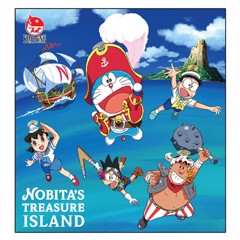 Sổ Xé Writing Pad Nobita's Treasure Island (100 Trang) PS1