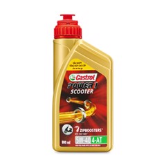 Nhớt xe tay ga 5w40 Castrol Power 1 Scooter 800ml