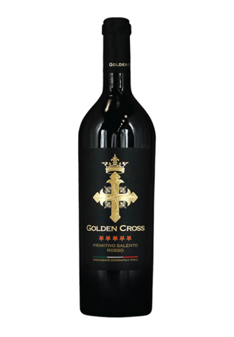 Golden Cross 2014 100% Primitivo Salento Rosso I.G.T