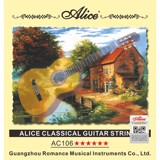 Bộ Dây Nilon Guitar Classic Alice A106