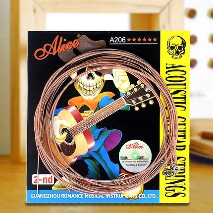 Bộ Dây Guitar Acoustic Alice A206