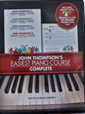 Giáo Trình Piano John Thompson's Easiest Piano Course - 4 Books + CD