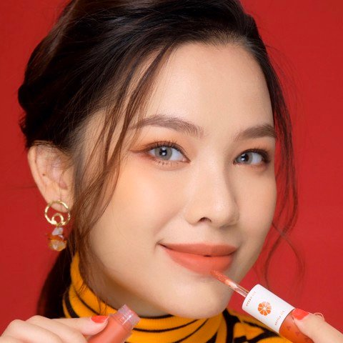 01.DATING Cam nâu đất Perfect Couple Lip - Love collection