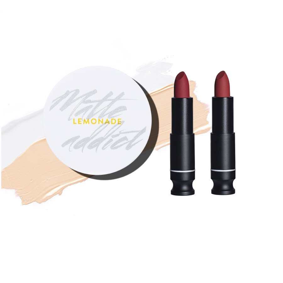 SET 02 SON MATTE ADDICT LIPSTICK & 01 MATTE ADDICT CUSHION A01.LIGHT