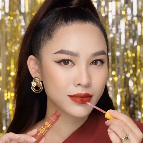 IWant01 Đỏ Đất LEMONADE WANT IT GOT IT Lipcream