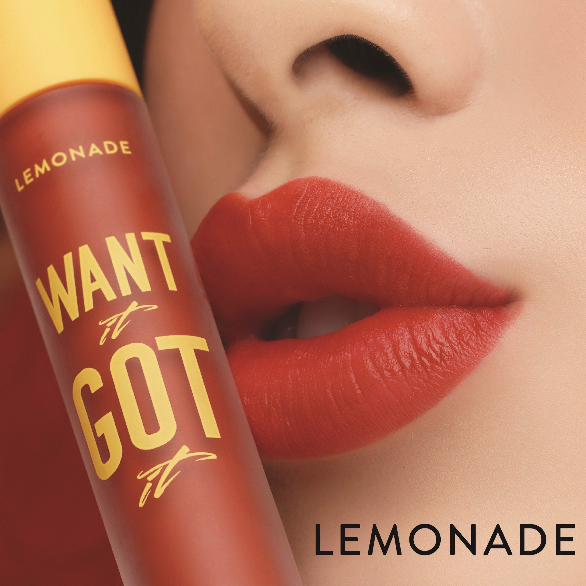 #IWANT01 ĐỎ ĐẤT LEMONADE WANT IT GOT IT LIPCREAM