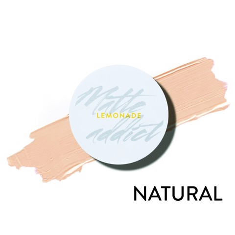 CUSHION ĐƠN - MATTE ADDICT CUSHION A02.NATURAL – DA TRUNG BÌNH