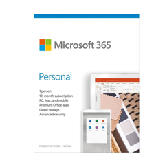 Phần mềm Office 365 Personal English APAC EM Subscr 1YR Medialess P6 (QQ2-00983)