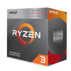 CPU AMD Ryzen 3 3200G (3.6 - 4.0 GHz)