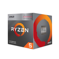 CPU AMD Ryzen 5 3400G (3.6 - 4.2GHz)
