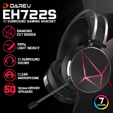 Tai Nghe Over-Ear DareU EH722s