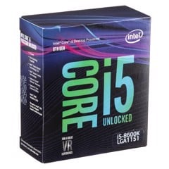 CPU Intel Core i5-8600K (3.6GHz - 4.3GHz)