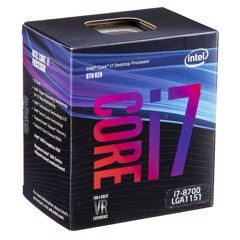 CPU Intel Core i7 8700 (3.2GHz)
