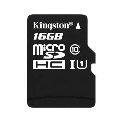 Thẻ nhớ Micro SDHC Kingston 16GB Class10 80Mb