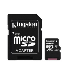 Thẻ nhớ Micro SDHC Kingston 64GB Class10 80Mb
