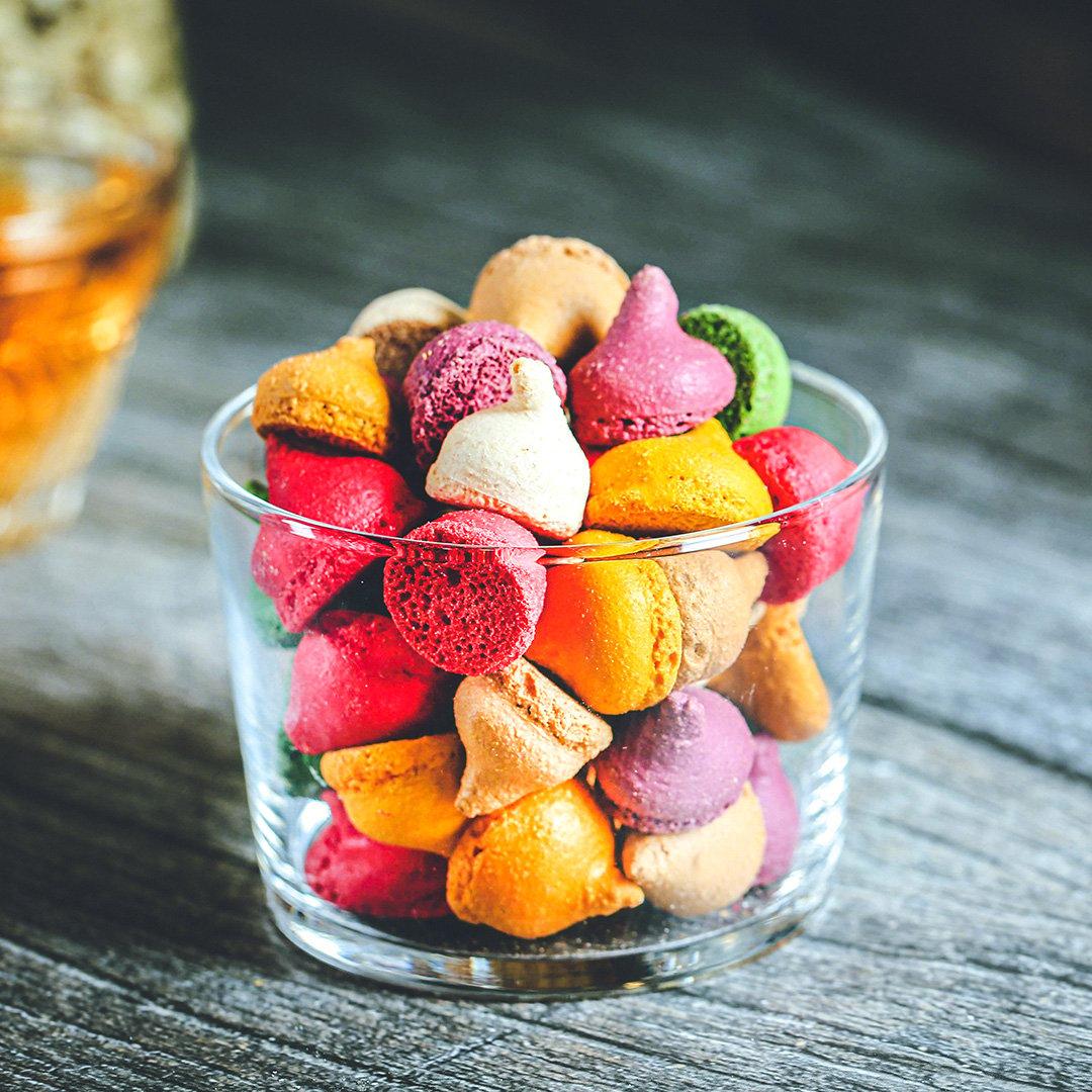 Bánh cookie macaron Đà Lạt, 80g, hũ, mẫu tobita