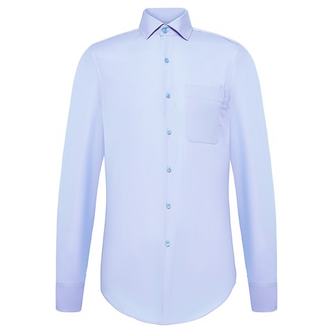 Silver gems khaki shirt with classic collar - Shirts MAN