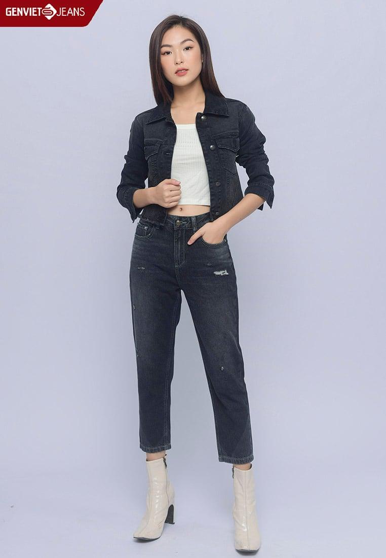 TQ104J1439 - Quần Jeans Nữ Lửng