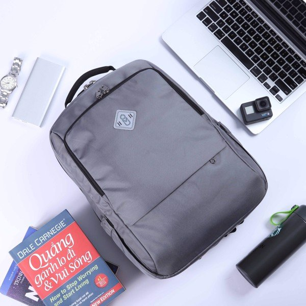 UMO TANO BackPack Grey- Balo Laptop Cao Cấp