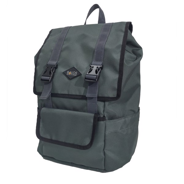 Balos SKY FLAP D.Grey Backpack - Balo Laptop thời trang