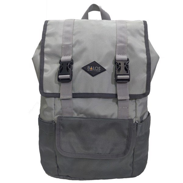 Balos SKY FLAP Grey/D.Grey Backpack - Balo Laptop thời trang