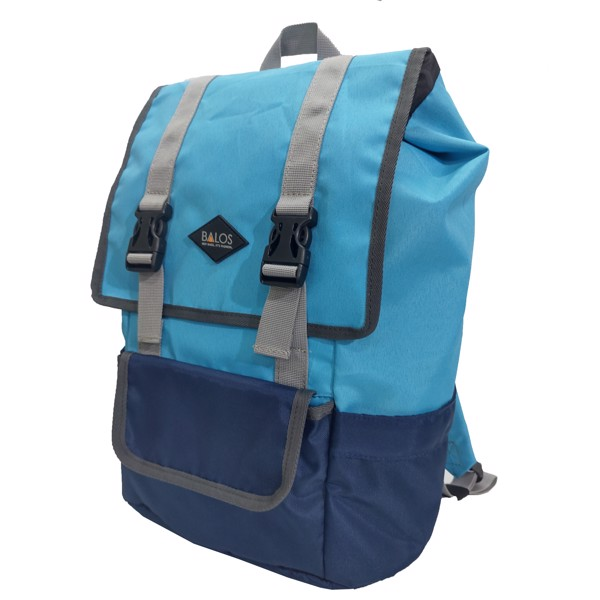 Balos SKY FLAP Blue/Navy Backpack - Balo Laptop thời trang