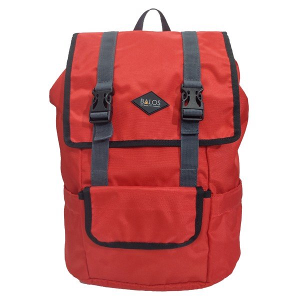 Balos SKY FLAP Red Backpack - Balo Laptop thời trang