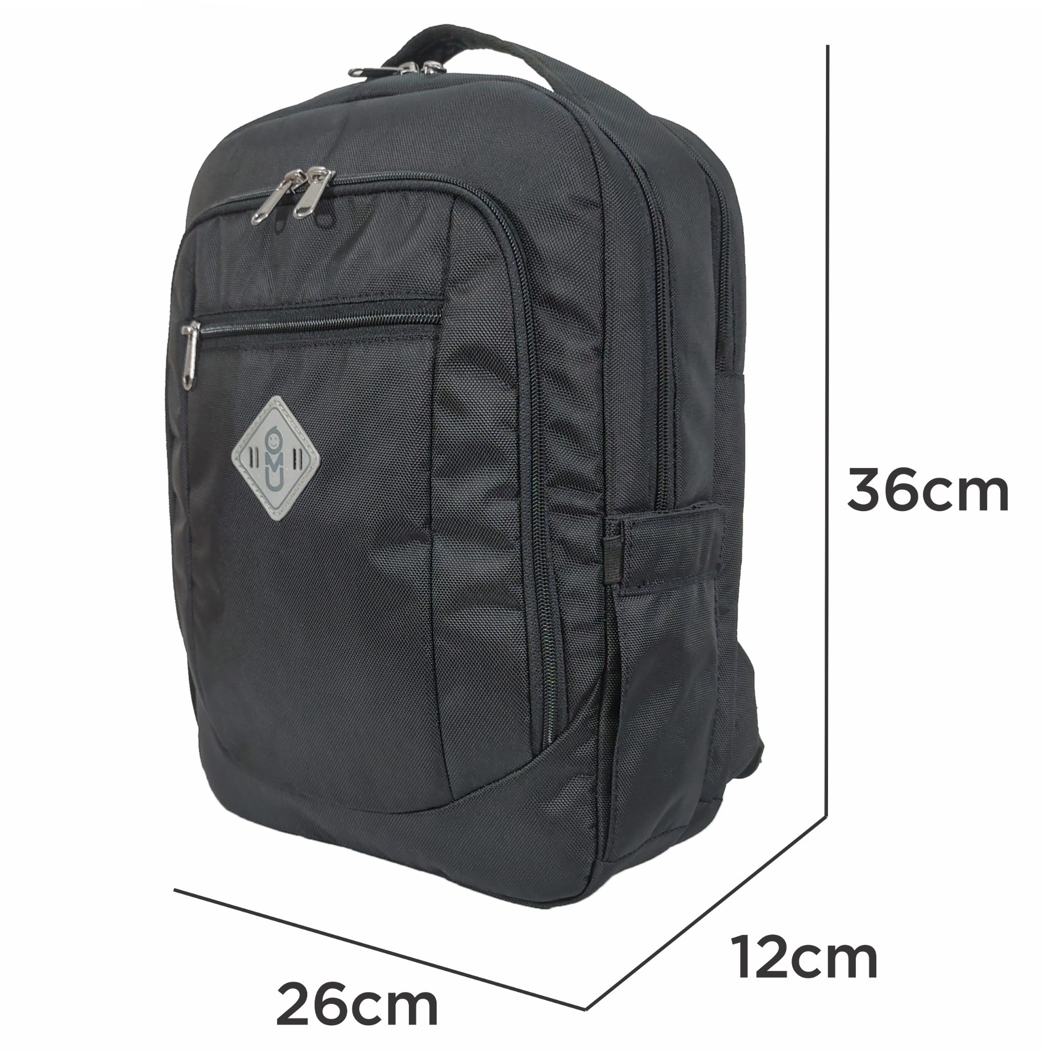 Balo UMO FOCUS BackPack Black- Balo Laptop Cao Cấp