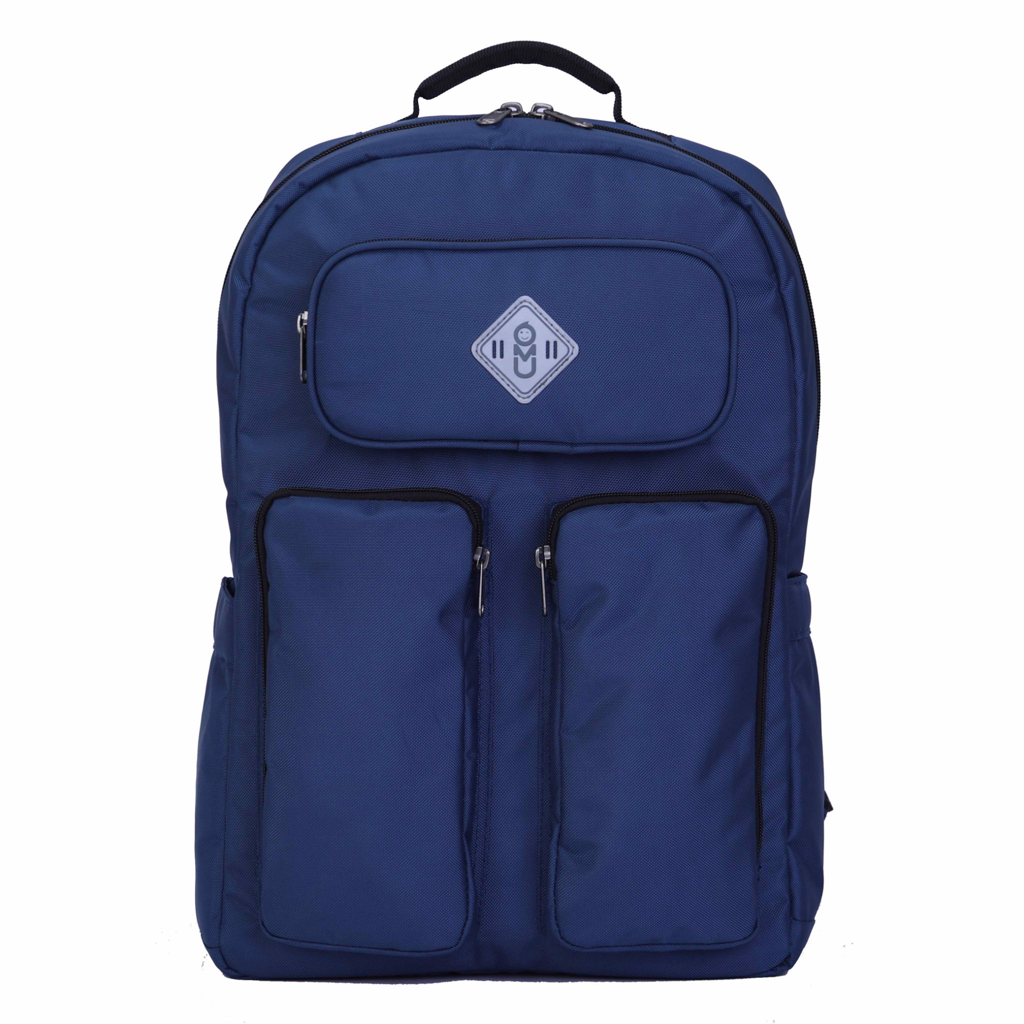 Balo UMO HUNKY Navy BackPack - Balo Laptop Cao Cấp