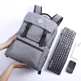 UMO TRAVELEYS BackPack L.Grey - Balo Laptop Cao Cấp