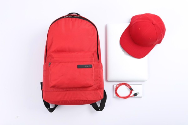 Balos ACTIVE Red Backpack - Balo Thời Trang