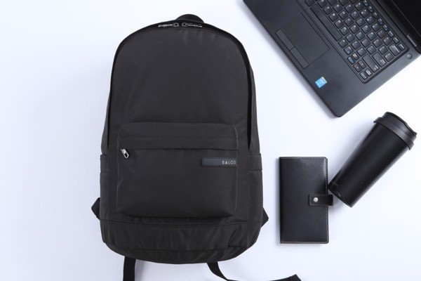 Balos ACTIVE Black Backpack - Balo Thời Trang