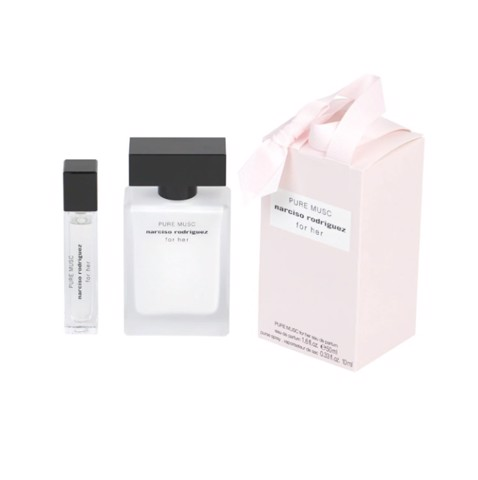 Set Nước Hoa Narciso Rodriguez Pure Musc For Her EDP ( 50ML + 10ML)