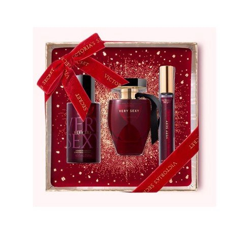 Bộ Sản Phẩm Victoria's Secret Very Sexy The Perfect Gift Fragrance ( X'mas 2020)