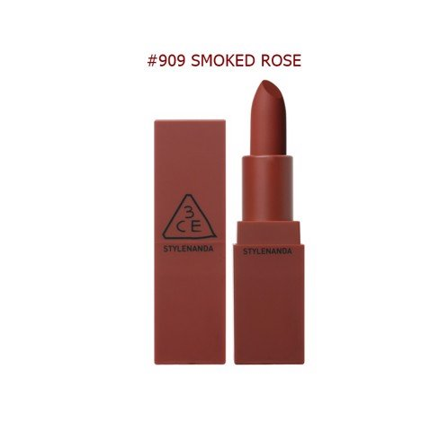 Son 3CE Mood Recipe Màu #909 Smoked Rose ( New )