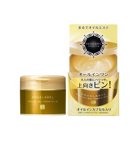 Dưỡng Da Shiseido Aqualabel Special Gel Cream Oil In 90g