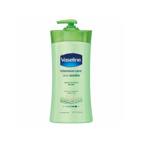 Dưỡng Thể Vaseline Intensive Care Aloe Soothe 725ml