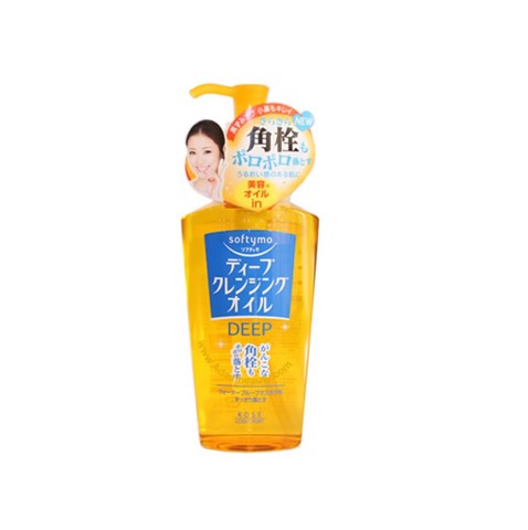 Tẩy Trang Kose Softymo Deep Cleansing Oil 230ml