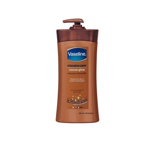 Dưỡng thể Vaseline Intensive Care CoCoa Glow 725ml