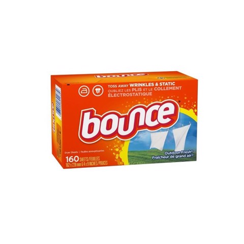 HỘP GIẤY THƠM BOUNCE 4 IN 1 OUTDOOR FRESH (160 TỜ)