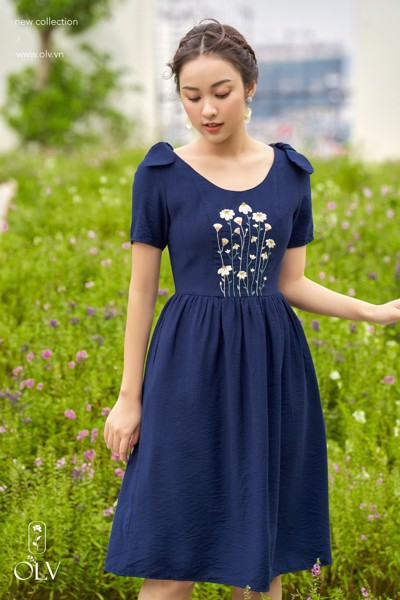 Bluebell Embro Dress