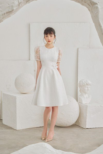Clear Quartz Princess Dress