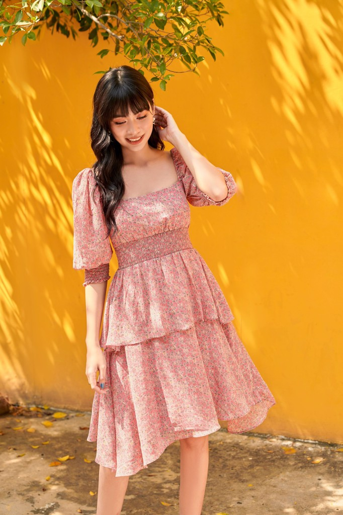 Rose Layering Dress