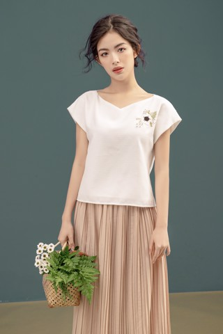 Embro Basic White Top