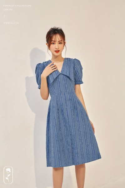Napoleon Blue Dress