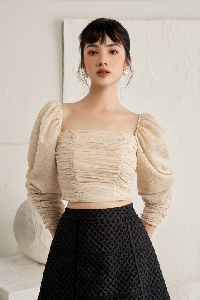 Áo Summer Pleated Top
