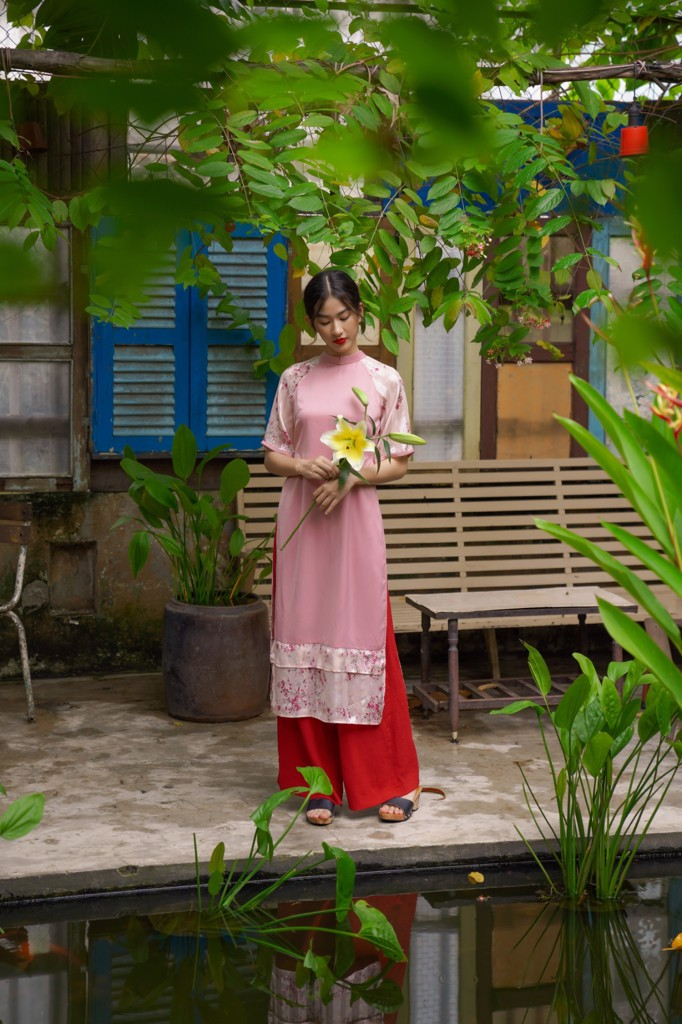 Quần Long Pants in Red